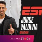 Gráfica apaisada Jorge Valdivia en ESPN